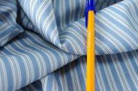 変わり織り:ライトヒッコリー タヒチブルー