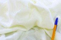 ヒマワリジャガードニット ホワイト